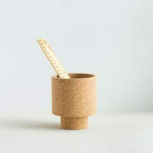 mind the cork isla desk tidy with ruler