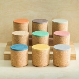 mind the cork emke collection large grain cork bases